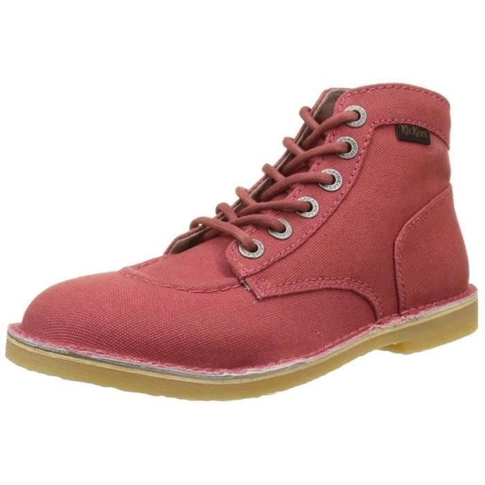 Kickers 507781 rouge - Chaussures Boot Femme
