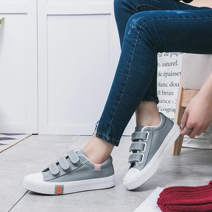 Femmes Sheloveit® Toile Baskets Velcro Sheloveit® 0OwPkn