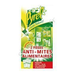 NETTOYAGE MULTI-USAGE PYREL Pièges Anti Mites alimentaires - x2