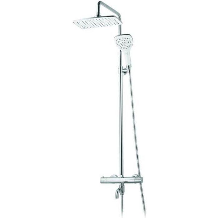 colonne de douche avec mitigeur thermostatique - achat / vente