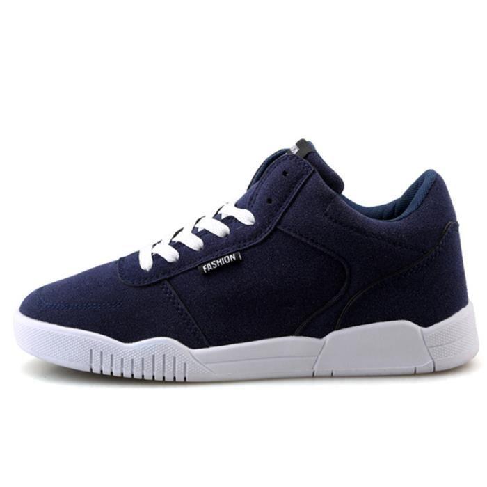 Chaussure Homme Meilleure Qualité Nouvelle En Daim De Mode Durable Légers Décontractées Solide Chaussures Confortable Taille 42 pEZlK