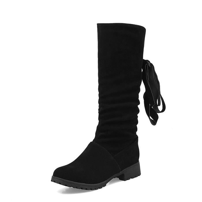 Slim Collection Lily Leather Boots CYNXN Taille-37 bzLBfuMY6