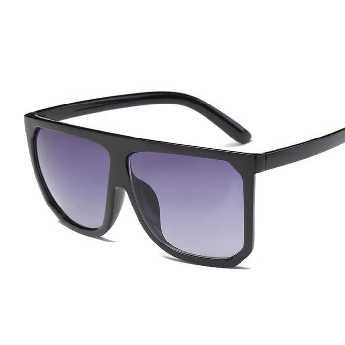... Femmes hommes Vintage rétro cadre lunettes de soleil mode unisexe  aviateur D 36d458077aca