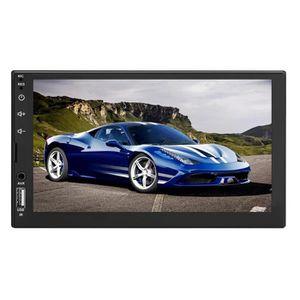 AUTORADIO 7703B 7 pouces tactile écran voiture MP5 stéréo FM