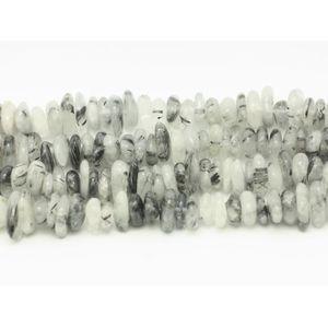 PIERRE VENDUE SEULE Fil 39cm 100pc env - Perles de Pierre - Quartz Tou