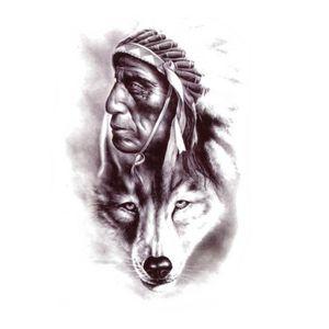 Tatouage Temporaire Loup Achat Vente Pas Cher