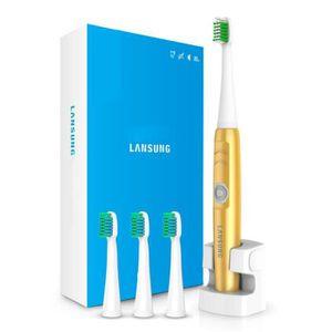 BROSSE A DENTS ÉLEC Brosse à dents électrique en couleur  Or  charge s