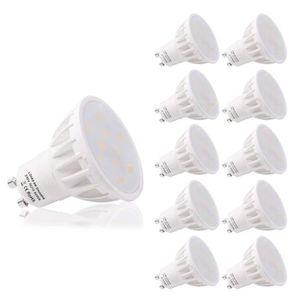AMPOULE - LED Ampoules LED LOHAS GU10, 6W, Ampoules halogènes éq