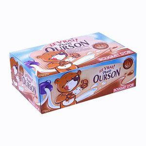 CONFISERIE DE CHOCOLAT Véritable Petit Ourson Chocolat Lait (par 48) (lot