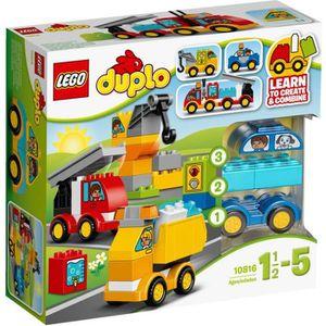 ASSEMBLAGE CONSTRUCTION Mon premier LEGO® DUPLO® 10816 Mes Premiers Véhicu