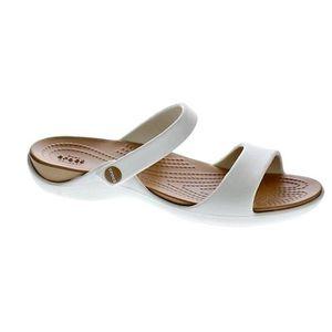 BALLERINE Chaussures Crocs Femme Sandales modèle Cleo V