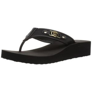 TONG Tommy Hilfiger Women's Rumia Flip-flop BLUJ3 Taill