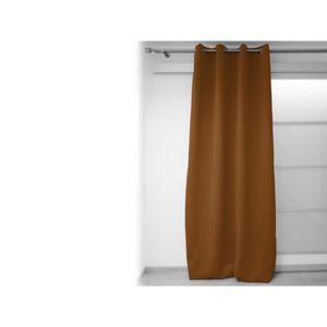 rideau occultant marron achat vente rideau occultant marron pas cher soldes d s le 10. Black Bedroom Furniture Sets. Home Design Ideas