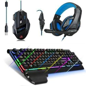 PACK CLAVIER - SOURIS PACK GAMING DELUXE pour PC : Clavier XPERT K100B +