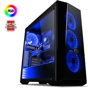 UNITÉ CENTRALE  VIBOX Splendour 3 PC Gamer - AMD 8-Core, Geforce G