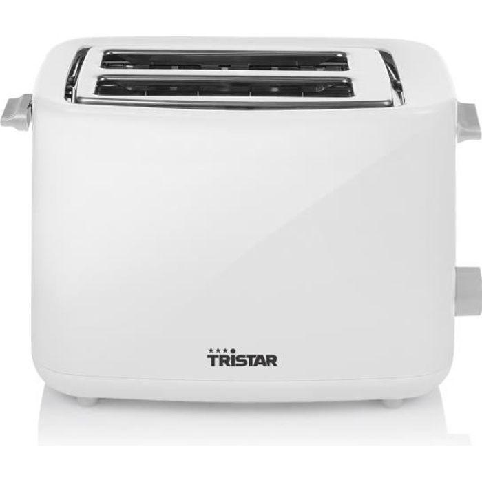700W - Blanc - Thermostat réglable 7 positions - Corps en plastiqueGRILLE-PAIN - TOASTER