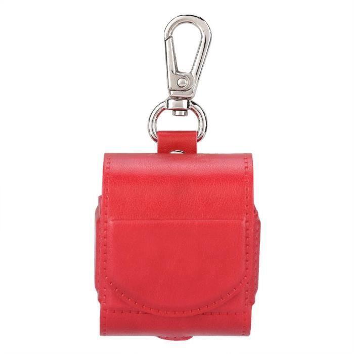 Pour Airpods Couverture Casque Strap Cas Sans Fil Bluetooth Protecteur (rouge)-cer