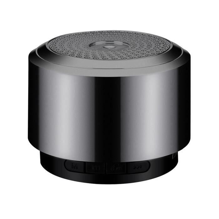 Mini Haut-parleur Bluetooth Usb Sans Fil Led Portable Music Box Caisson De Graves Petit Lly81213101bk