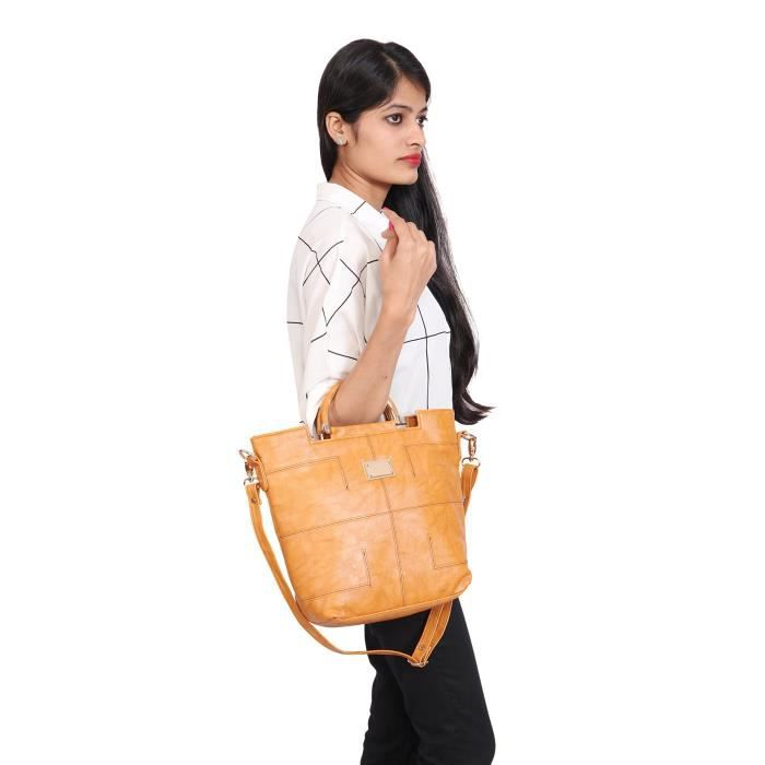 Womens Synthetic Leather Shoulder Bag For Girls And Women LNTGY