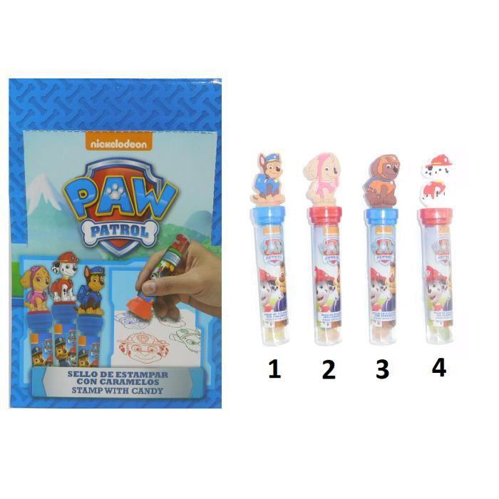 PION - FIGURINE DE JEU Tube Tampon et Bonbons Pat Patrouille Paw Patrol M