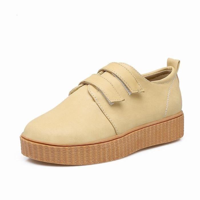 Chaussures Plates Solides semelles épaisses stables et confortables pour la famille en plein air JeSGURUos