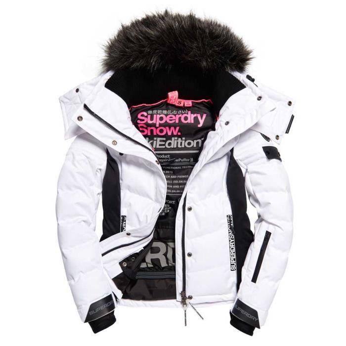 Vêtements femme Vestes isolées Superdry Snow Puffer Prix