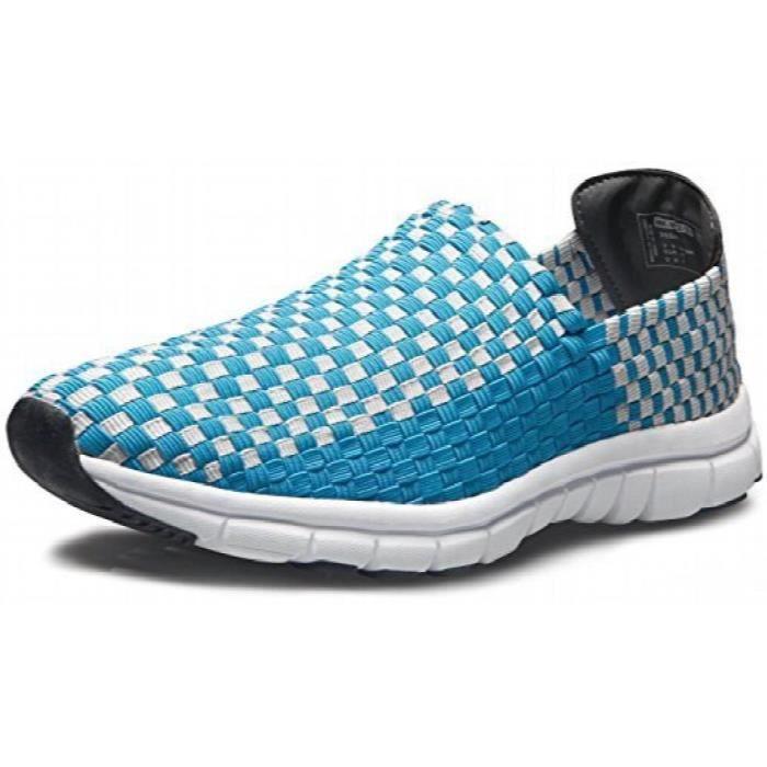 Unisexe Ultra léger multicolore tissé Sneaker Slip-on chaussures V471 - V472 - V473 - V474 WR75W Taille-40