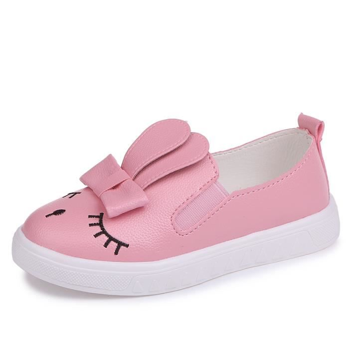 Moccasins Chaussures sport fille slip-on nouvelle printemps Mode sWhPM