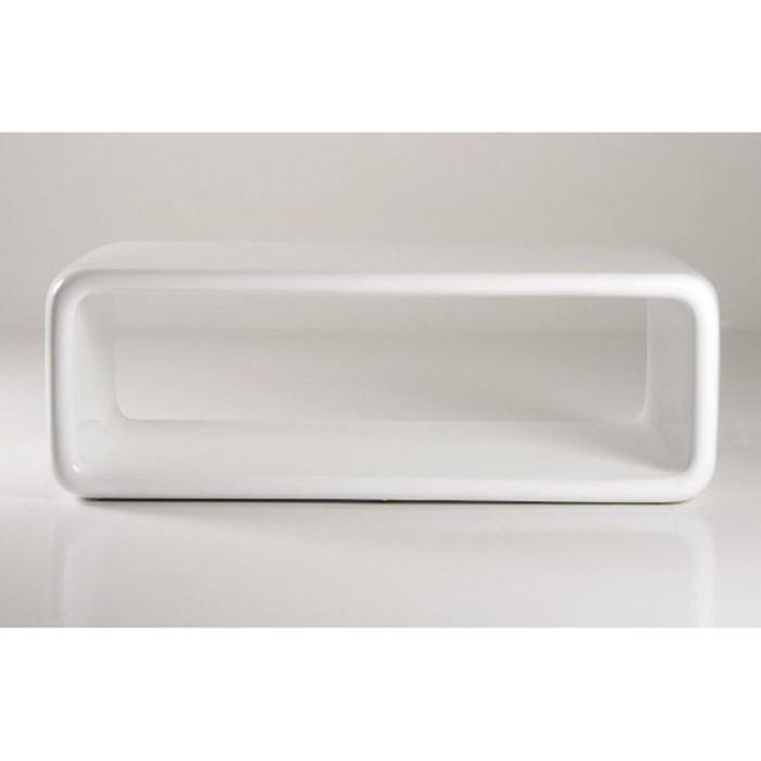 Laquée Ice Blanche Design Vente Table Basse Cube Achat jzMVLpqUGS