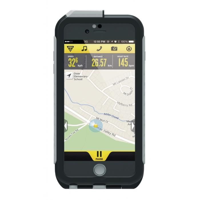 TABLETTE ENFANT Topeak Weatherproof RideCase für iPhone 6 Plus+Hal