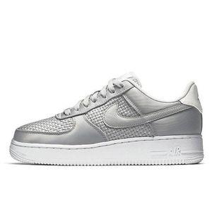 Nike Femmes Sneakers WMNS Air Force 1 07 PRM QS Argent-Pink-Blanc 704517-002 [36.5] 0ufinyvXs