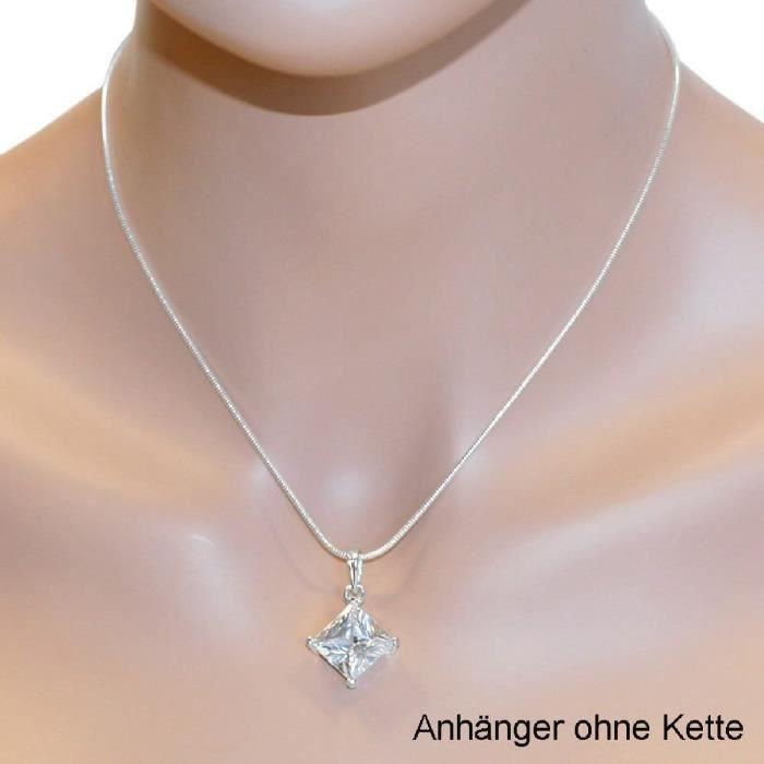 In Collections - 0010201675340 - Pendentif Femme - Argent Fin 925-1000 - Zirconium WKZ76