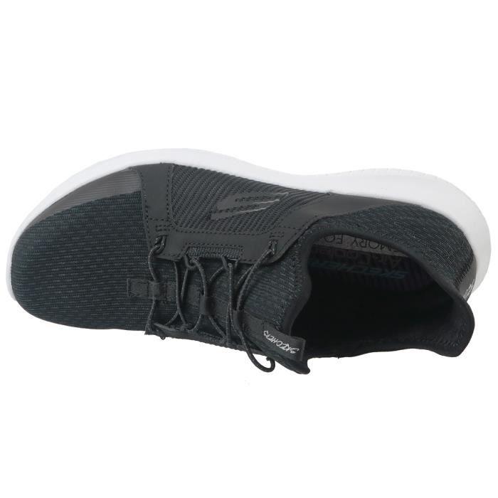 Skechers Ultra Flex 12832-BLK Femme Baskets Noir