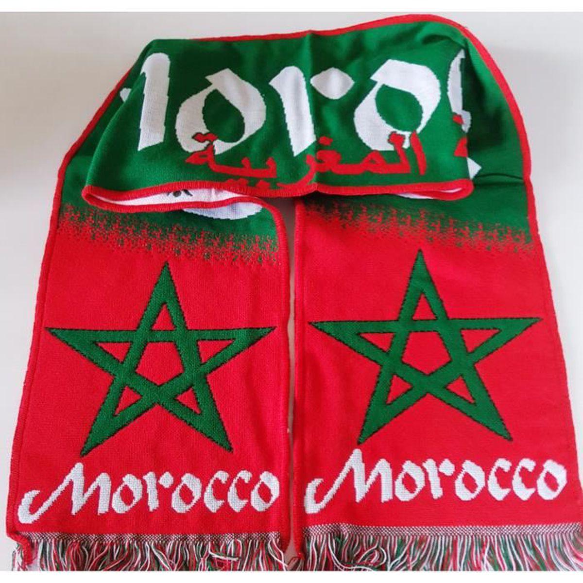 Maroc Football Supporter Morocco Achat Vente Vert Echarpe H6R1qwxC 14e805fd447