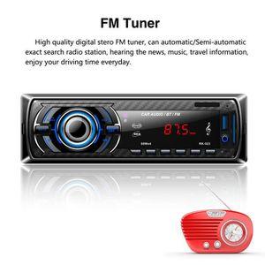 Récepteur audio Bluetooth Autoradio stéréo MP3 MP3 Lecteur de DVD