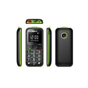 Téléphone portable Téléphone portable pour Seniors Maxcom  MM 560 noi