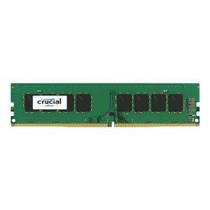 MÉMOIRE RAM CRUCIAL Mémoire PC DDR4 PC19200 C17 UDIMM 2400MHZ