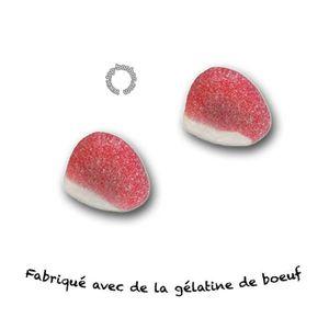 CONFISERIE DE SUCRE Bisou fraise Fini Halal