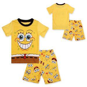 Ensemble de vêtements  Vêtements Enfants Garçons Pyjamas SpongeBob Bob l