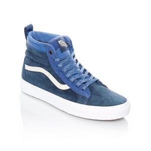 Vans Chaussure de baskets bleue mince de sk8 hi FO6TA Taille 39