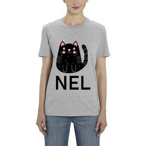 T-Shirt premium - Manche Courte - Femme - Gris - CHAT MARQUE CHANEL ... 0596efaee9f