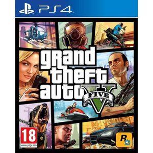 JEU PS4 GTA V Jeu PS4 +  2 boutons THUMBSTICK OFFERT