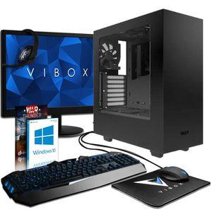 UNITÉ CENTRALE  VIBOX Mensa Pack 8 PC Gamer - AMD 8-Core, GTX 1080