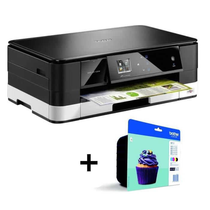 Imprimante Brother DCP-J4120DW + Cartouches d'encre Multipack