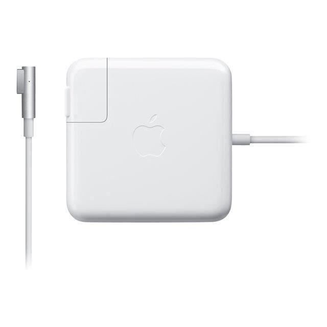 CHARGEUR - ADAPTATEUR  Adaptateur secteur MagSafe de 60 watts d'Apple (po