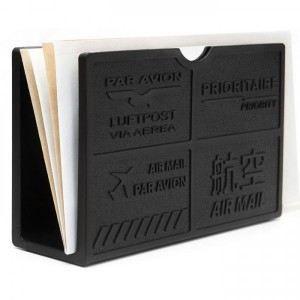 Porte enveloppes design black couleur noir achat vente - Porter plainte par courrier ...