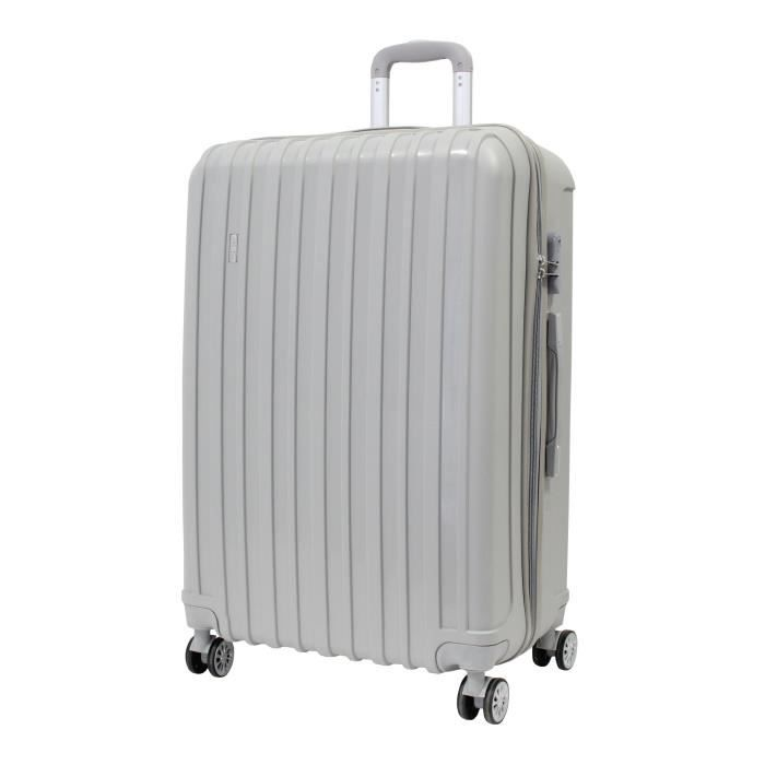 """VALISE - BAGAGE Valise Grande Taille 75cm - ALISTAIR""""X-Safe""""- Poly"""