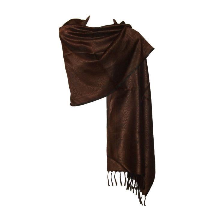Etole écharpe femme - Arabesque Motif Cachemire - Achat   Vente ... af1c00f628b