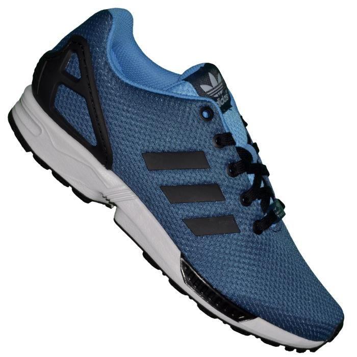 Adidas - Basket Running - Femme - Zx Flux K 06 M19386 - Bleu Fonce