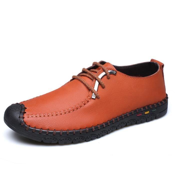 IZTPSERG Chaussures Richelieu cuir Homme ziffD7e